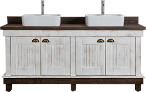 African Allure Double Vanity Unit