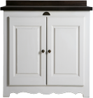 French Flair Double Door Unit
