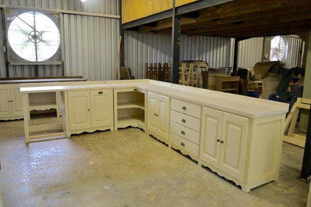 Free Standing Handmade Designer Kitchen Units South