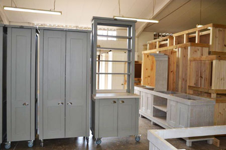 Free Standing Handmade Designer Kitchen Units South