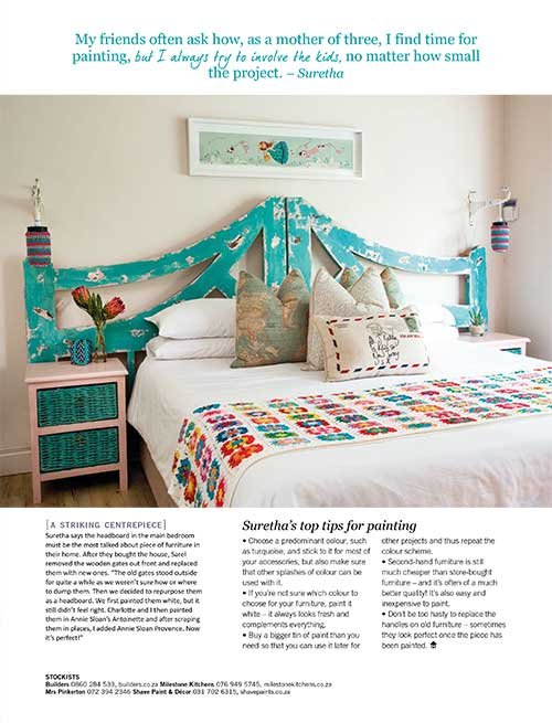 Milestone Kitchens features in the current HOME/TUIS Paint Magazine