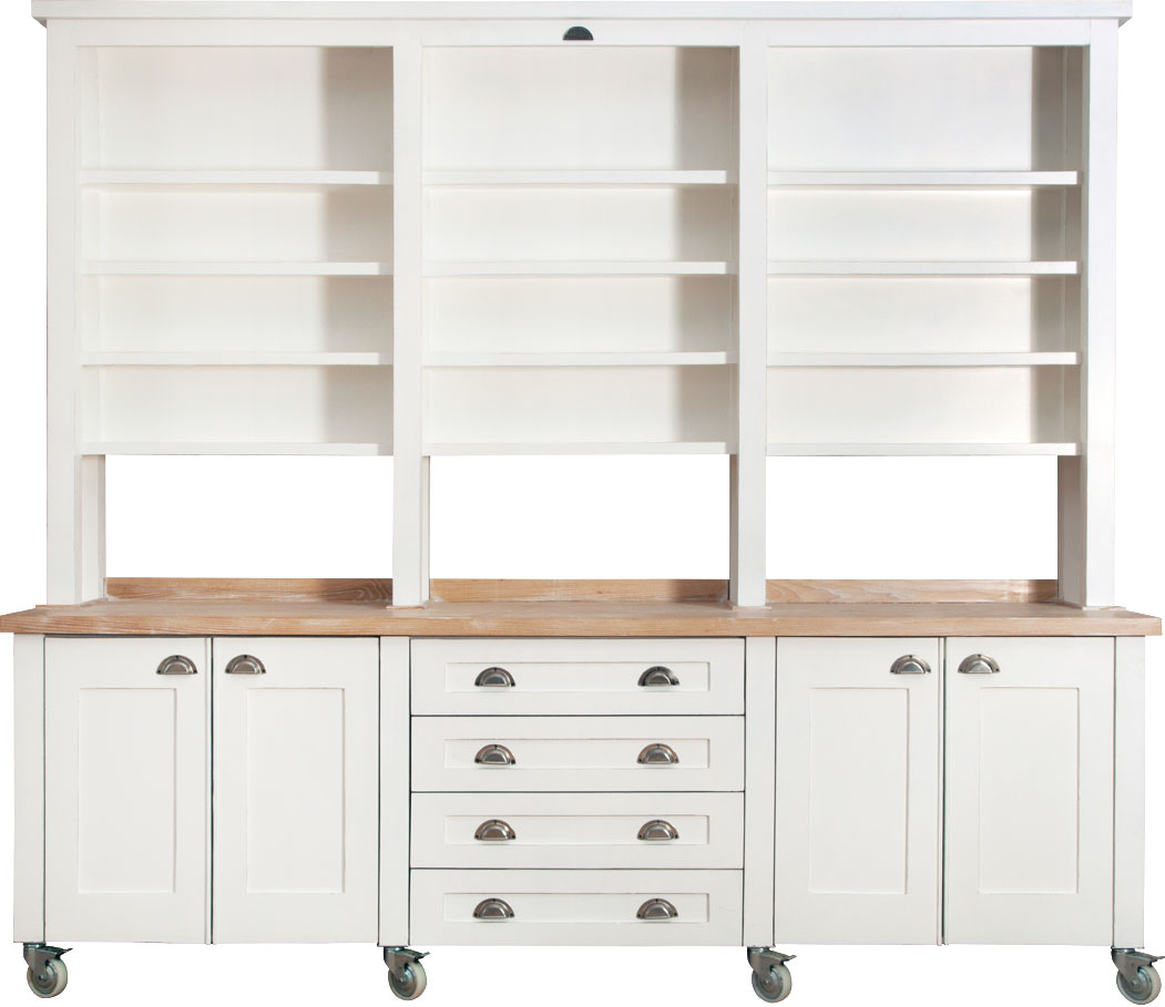 Cup handles for kitchen cupboards - Swedish Style Deluxe Coffee Dresser With Blonde Top And Cup Handles