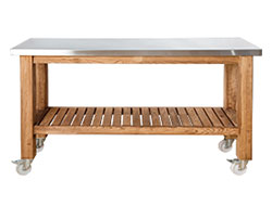 Solid Ash Pastry Table