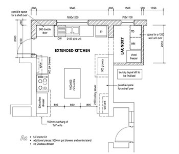 great kitchen floor plans downloadable kitchen layout planner south africa 3945