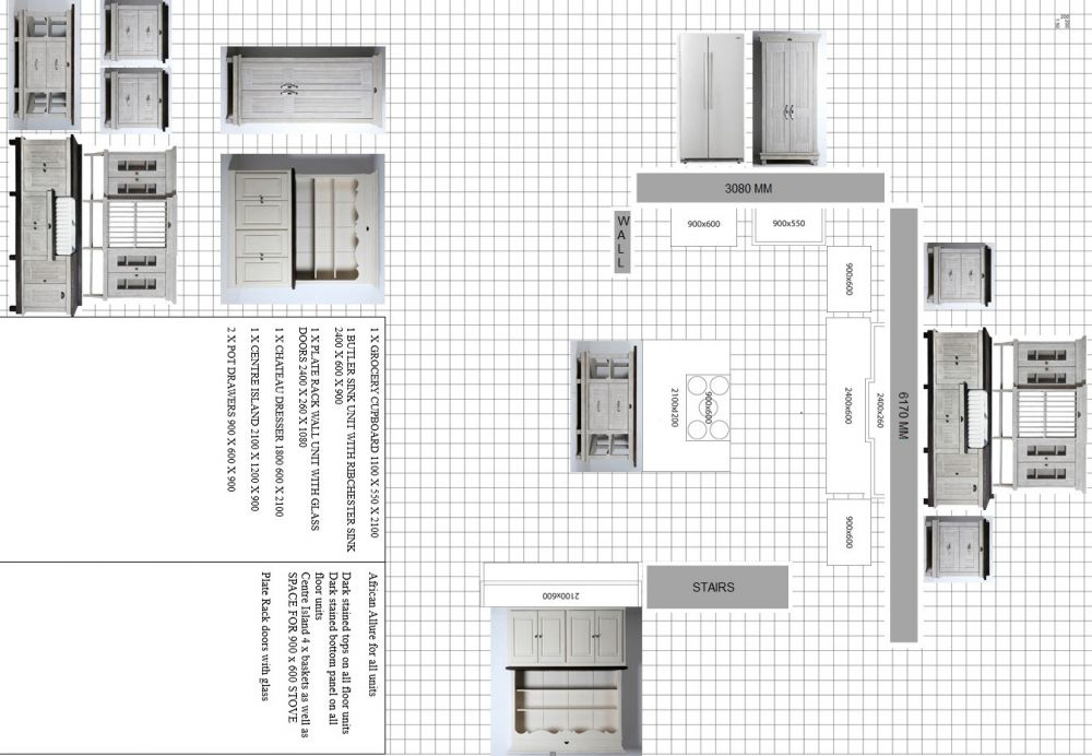 Delightful Kitchen Planner Example